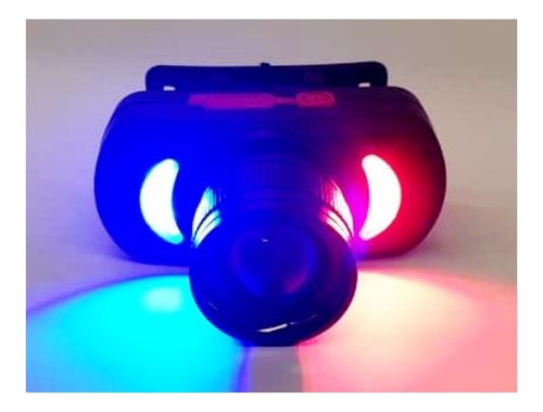YT-873-1 LED Headlight Powerful Rechargeable Multicolor Zoomable LED Bicycle Headlight