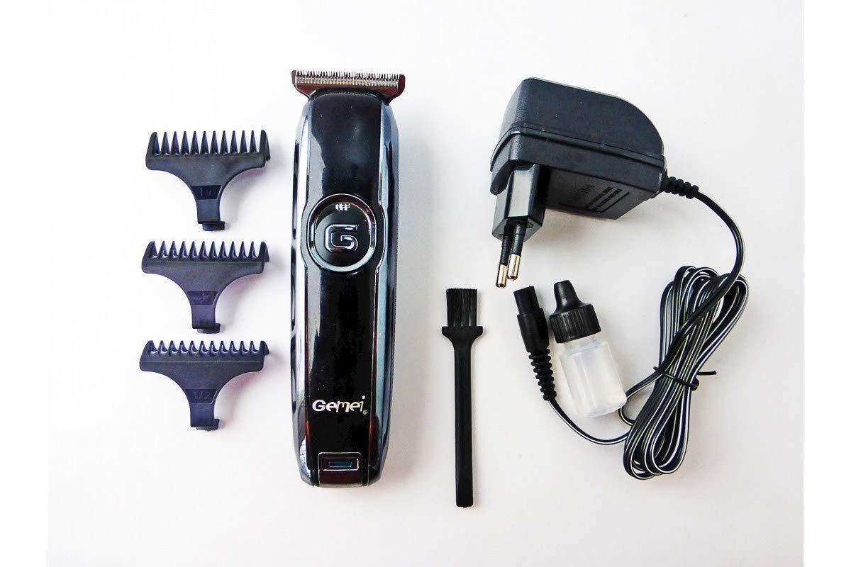 Geemy GM-6050 Professional T-blade Hair Trimmer Electric Beard Trimmer Precision Cutter Hair Clipper