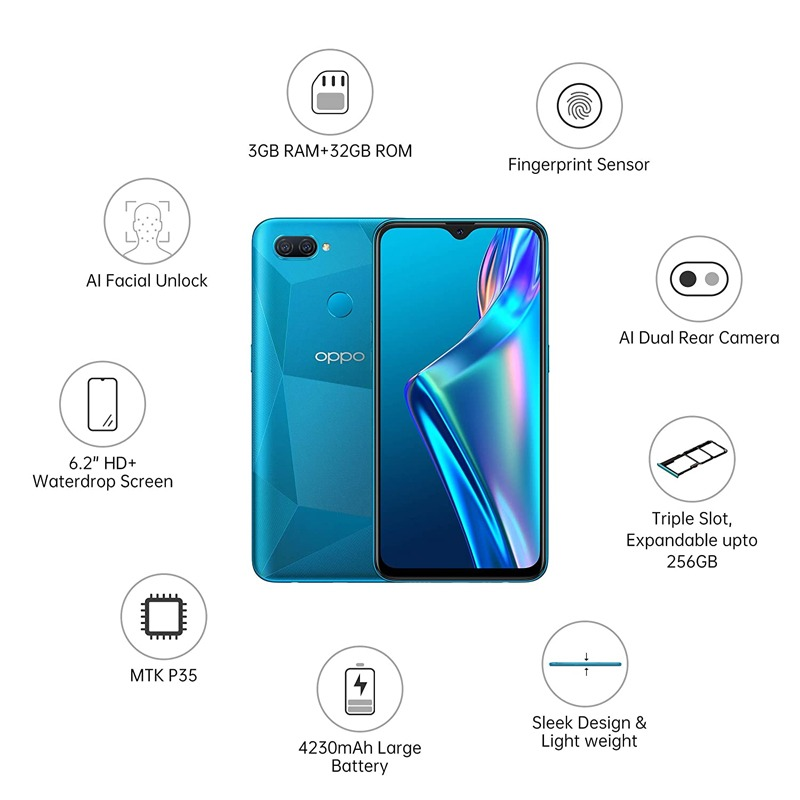 OPPO Mobile Phone A12 -3GB/32GB Memory