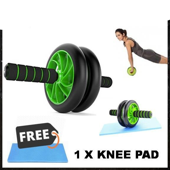 Dual Abs Abdominal Wheel Ab Roller Exercise Fitness Equipment Workout Ab Roller Wheel /Smart Gallery No Ratings