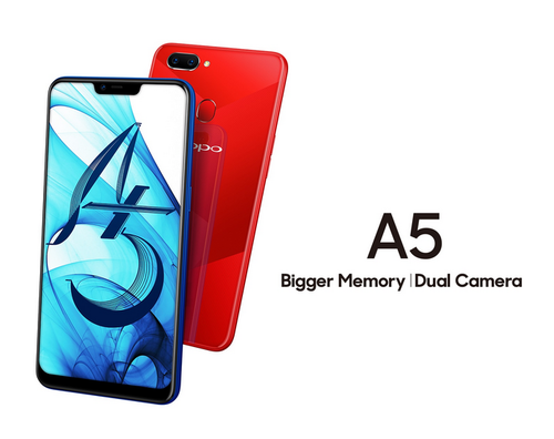 OPPO Mobile Phone A5 -3GB/64GB Memory