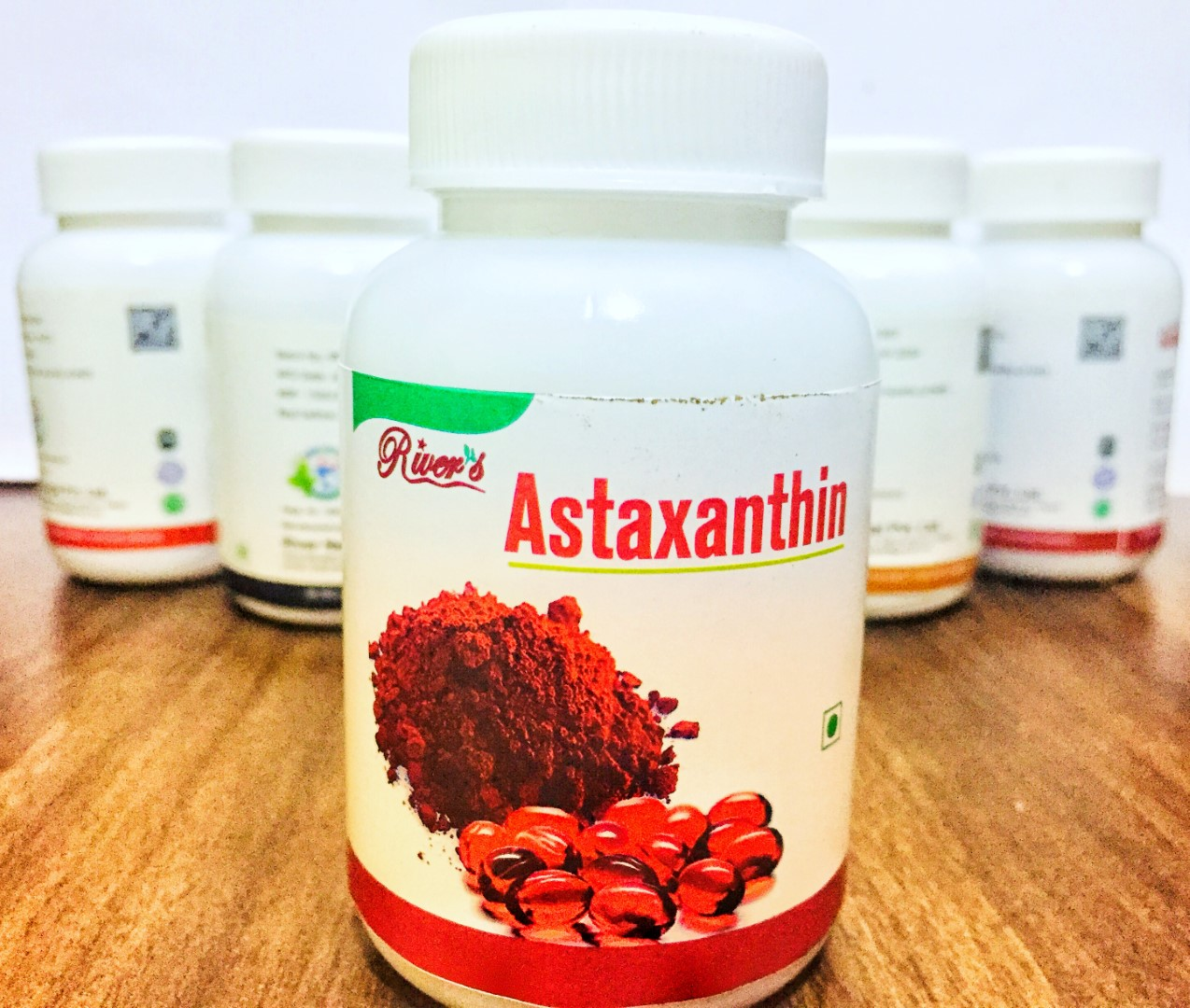 The River's Astaxanthin Food Supplement, Weight Management, Detoxification, Anti-Oxidant, Healthy Heart, Beneficial Herbal Food Supplement / By Shophill