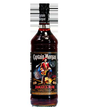 Captain Morgan Black-1 Ltr