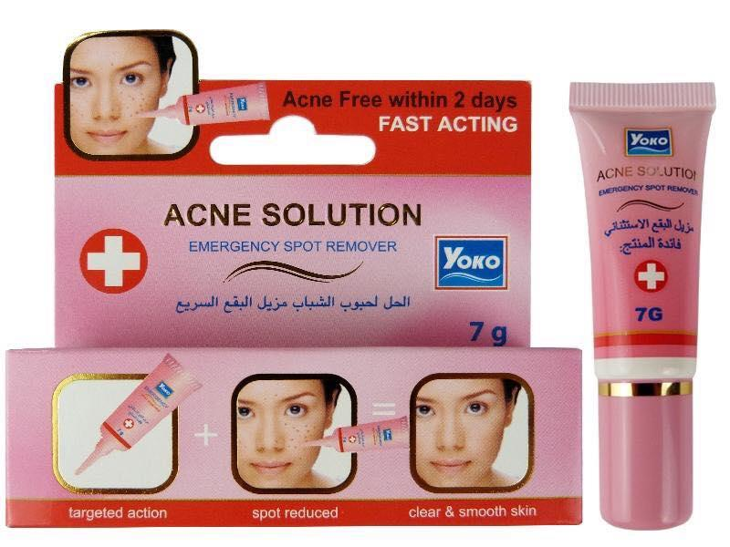 Yoko Acne Solution Emergency Spot And Pimple Remover-7 Gm
