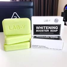 Lab-Y Whitening Booster, Lightening Beauty Skin, Anti Ageing Bar Soap,Whitening With Collagen,100G