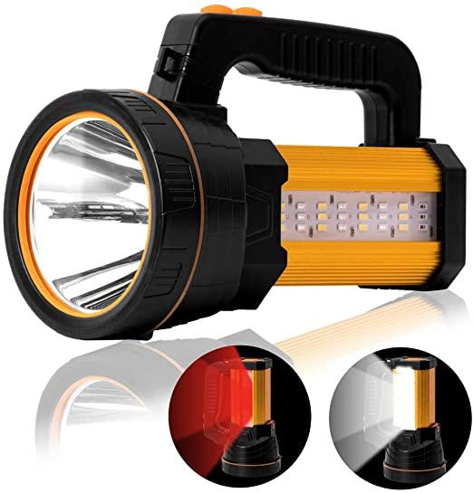 Super Bright Rechargeable Torchlight, LED Spotlight Flashlight