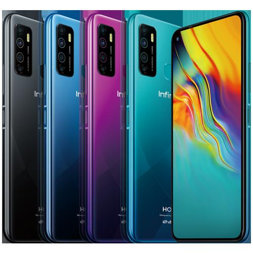 INFINIX  Hot 9 Mobile Phone ( 4+64 GB - X68OB)