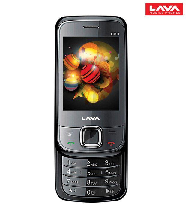 LAVA C30 Dual Sim Mobile Phone