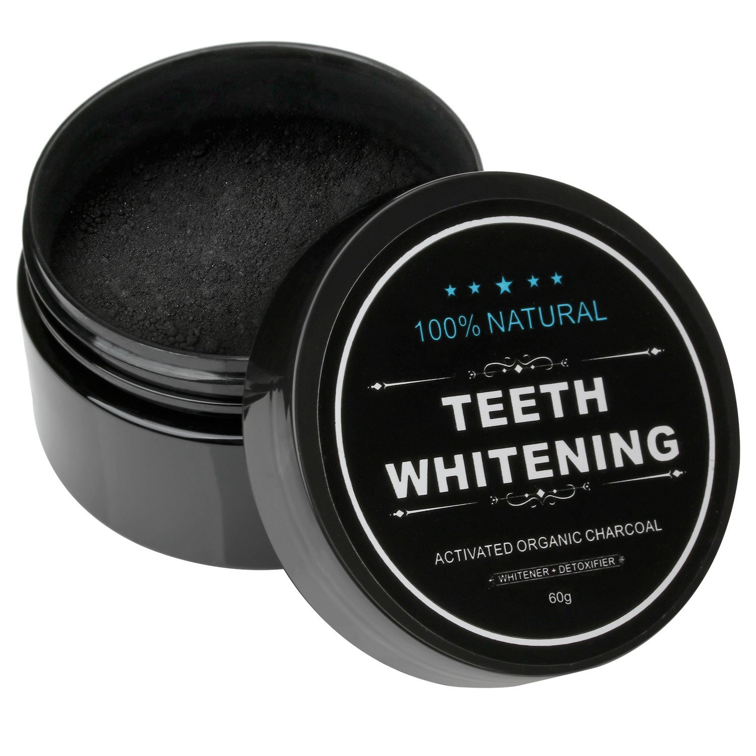Natural Teeth Whitening Activated Organic charcoal Powder
