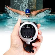 Digital Handheld Multi-Function Professional Electronic Chronograph Sports Stopwatch Timer Water-Proof Stop Watch, Display Great For Sports Coaches Fitness Coaches And Referees