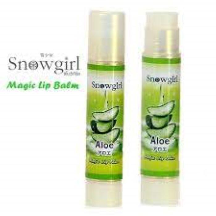 Snowgirl Aloe Magic Lip Balm Gloss /Color Change/ Moisture/ Nourish Lip Blam