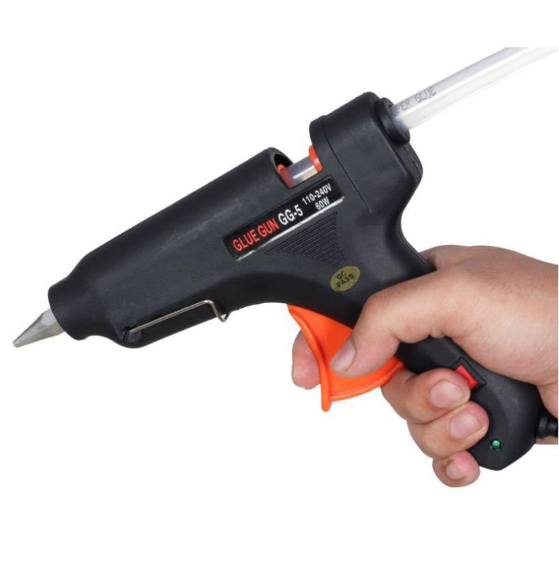 Electric Heating Hot Melt Glue Sticks Trigger Glue Gun GG-5 100w