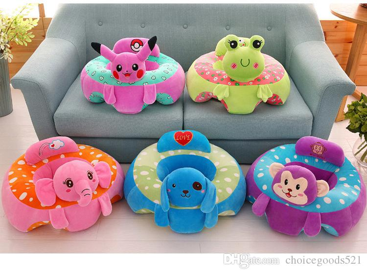 Baby Soft Sofa With Cartoon Characters - Assorted Color/Design
