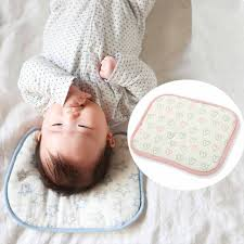 Baby Head Making Pillow Rectanglar