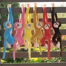 1 Piece lovely long Arm Monkey Plush Toy, Hanging Monkey Stuffed Animal, Monkey Toys Doll For Gift (Color May Vary)