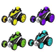 360 Degree Tumbling Stunt Car Wireless Remote Control Stunt Dancing Car Boys Mini RC Car Cool Toy 360 Rollover Wheel Vehicle Toy