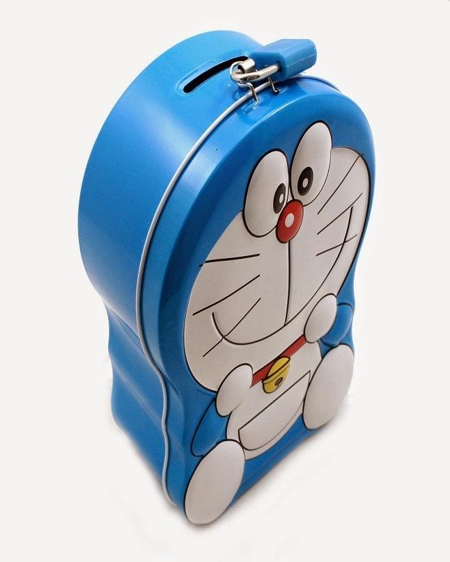 Doraemon Metal Piggy Bank For Kids
