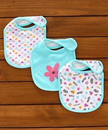 Baby Stylish Feeding Bib(2 Pcs) Color May Vary