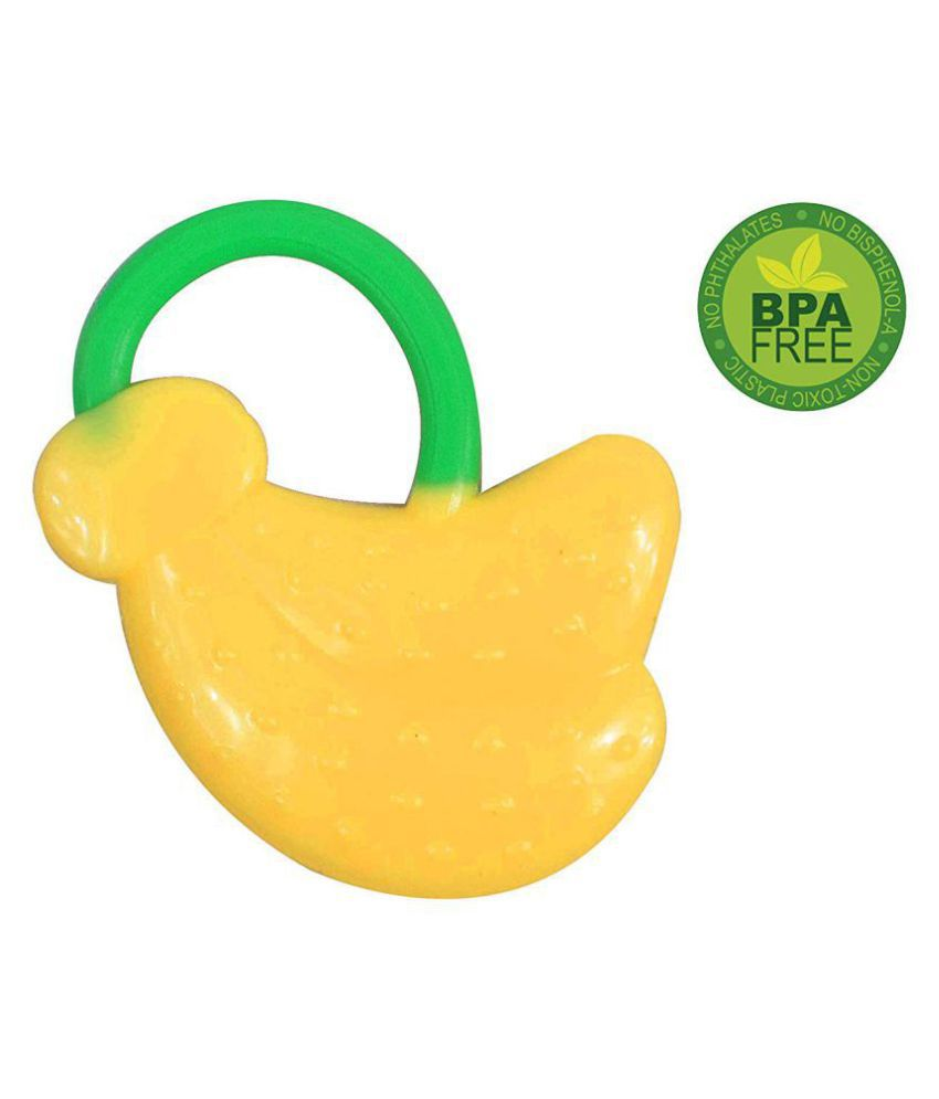 Single Silicone Fruit Shape Teether for Baby