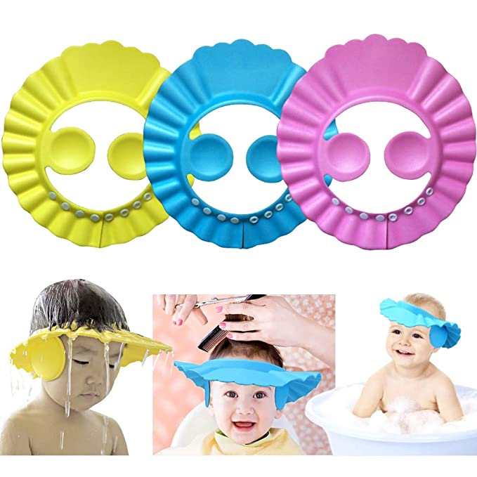 Baby Shower Cap-Assorted Colour