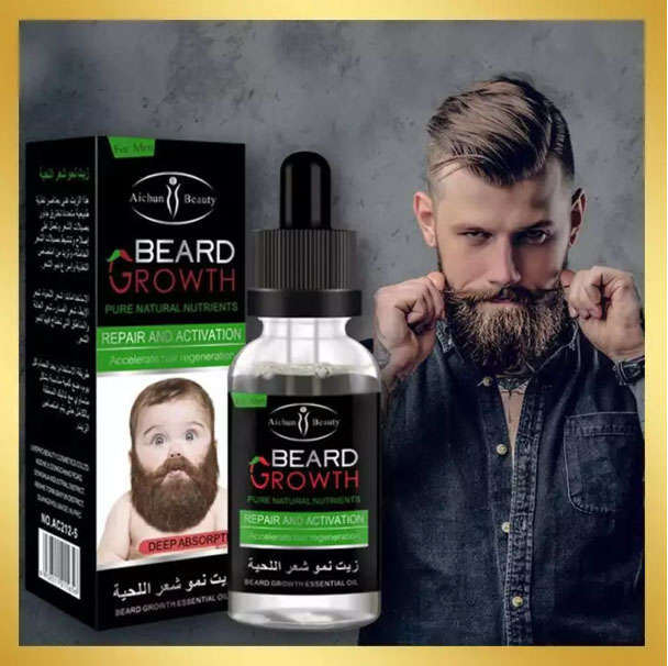 Beard Growth Pure Natural Nutrients Repair And Activation Accelerate Hair Regeneration 30Ml