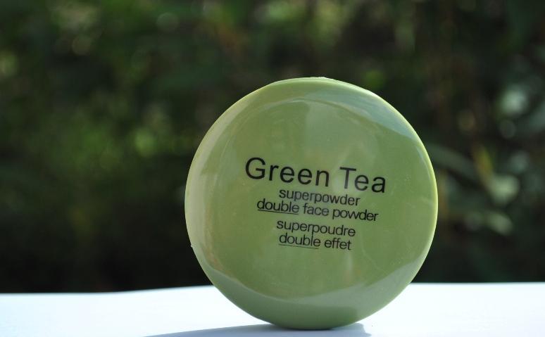 Green Tea Compact Powder - SUPER POWDER DOUBLE FACE POWDER ADS Matte Powder with Green Tea Extract-36 Gms