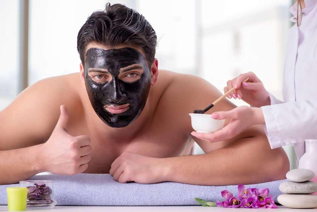 Peel Off Black Charcoal Mask With Volcanic Soil For Removal Of Blackhead, Acne Treatment & Oil Control
