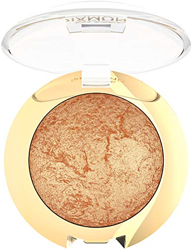 Golden Rose Diamond Breeze Shimmering Baked Eye-Shadow - 02 Dazzle Bronze