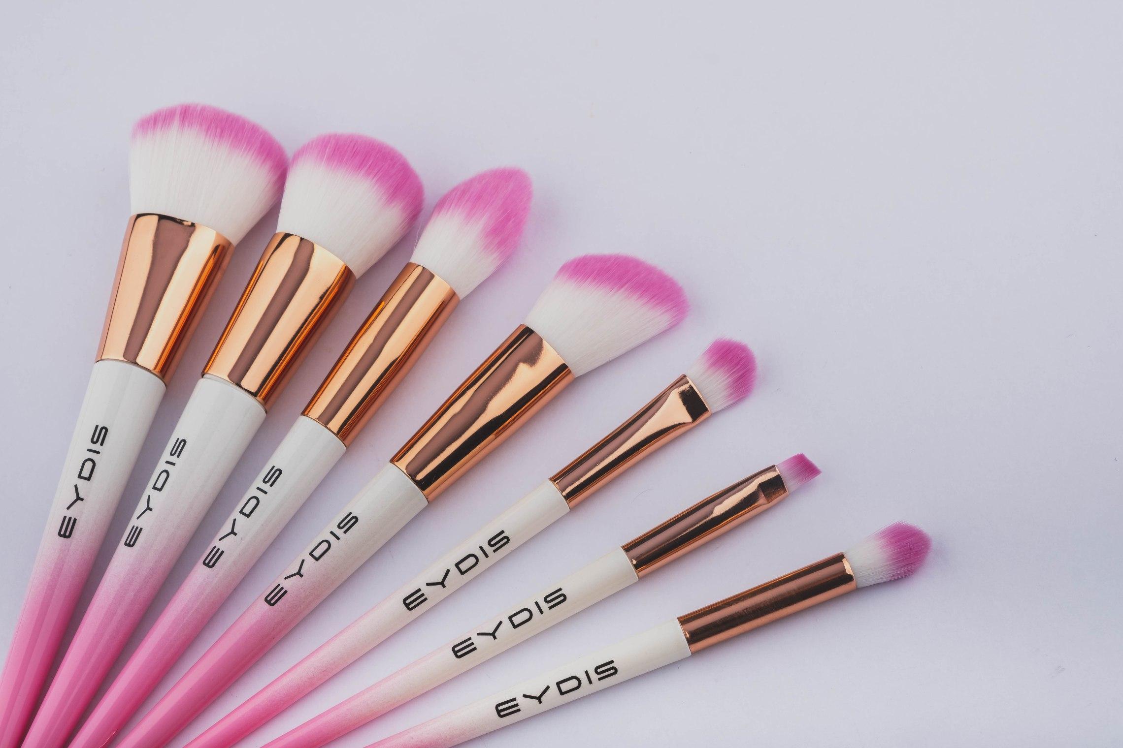 Make Up Brush Set - 7 Pieces
