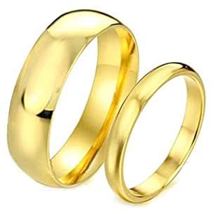 Gold Plated Panchadhatu Couple Ring