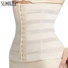 Slim Belt Shapewear - Women Slimming Breathable Elastic Corset Waist Trainer Cincher Belt Shapewear (Skin Color)