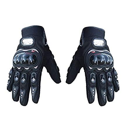 Pro Biker For Bikes Hand Gloves -Bike Racing Riding Hand Gloves Bike'S Accessories- Black