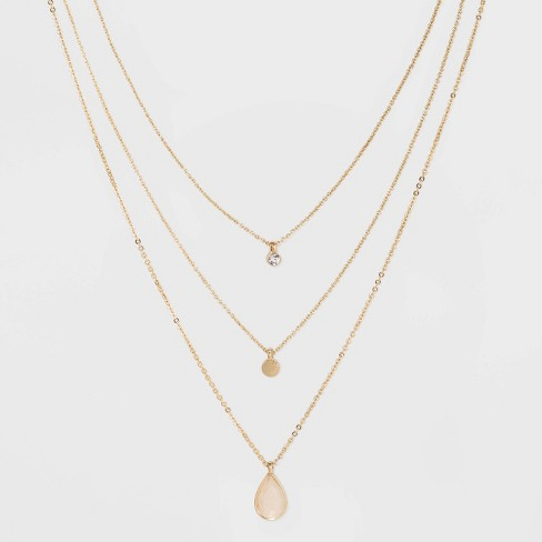 3 Layered Necklace For Women
