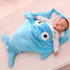 Shark Baby Sleep Sack (Color May Vary)