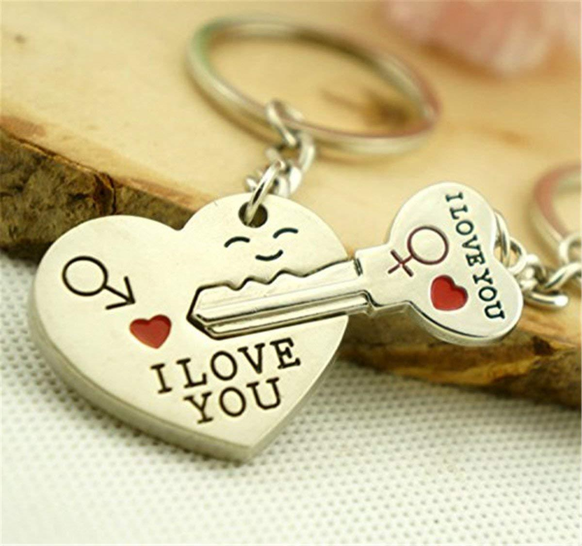 Heart Cute Love Key Ring Couple Gifts For Boyfriend And Girlfriend