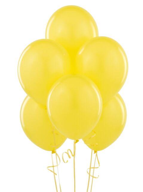 Yellow Balloons Set - 100 Pieces