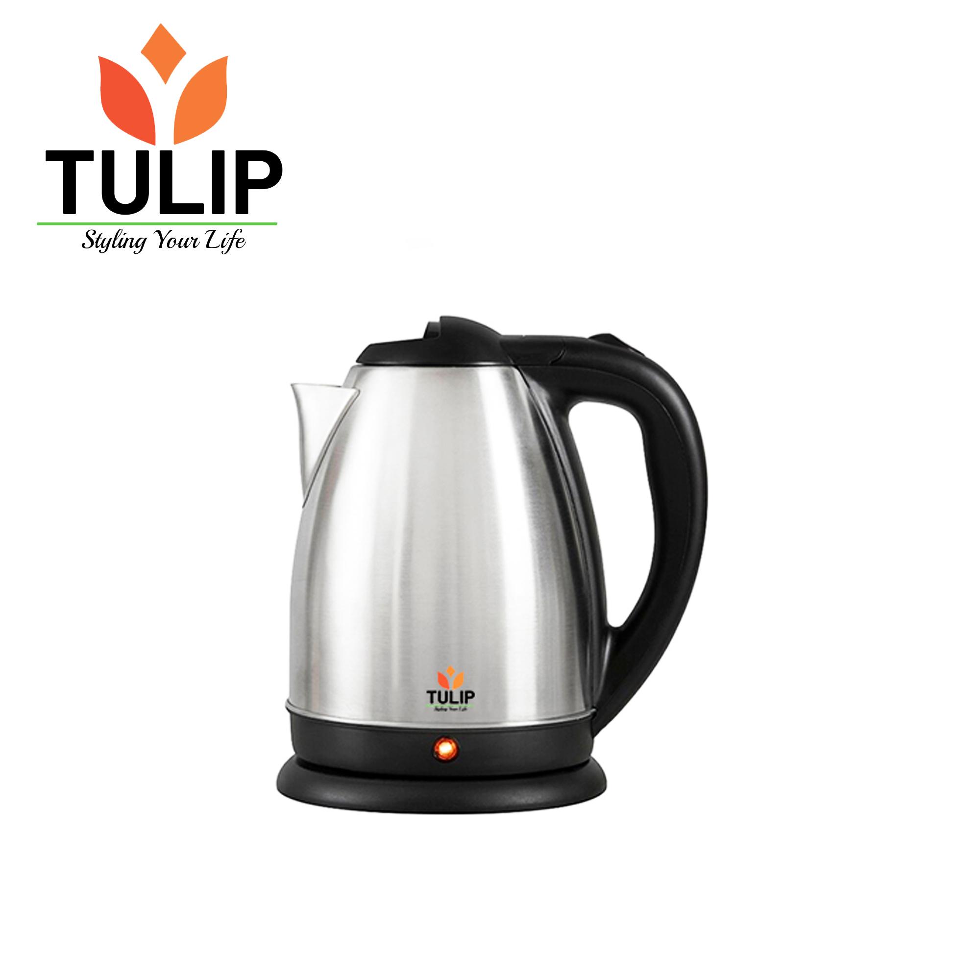 Tulip Hotee Steel Cordless Jug 2 Ltr