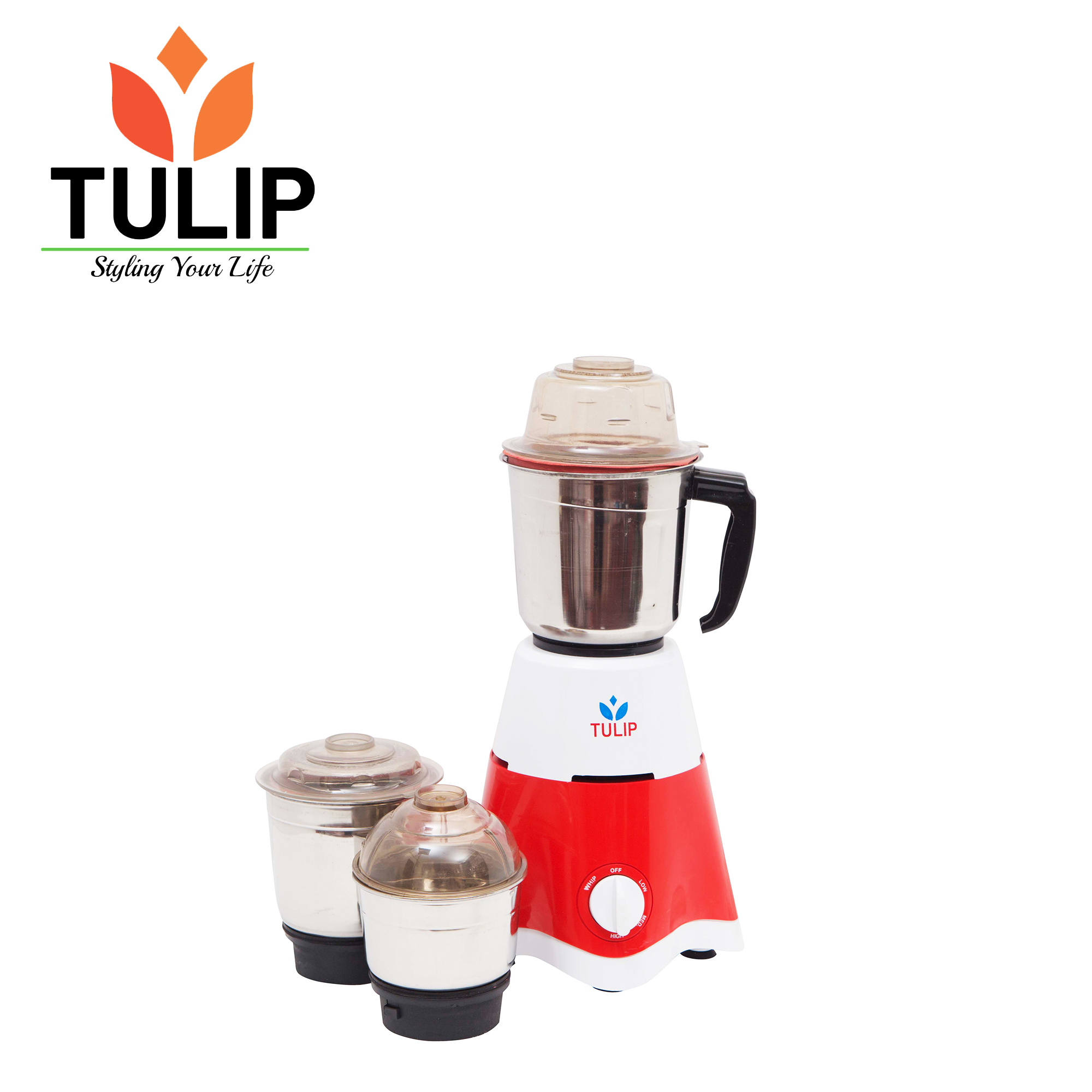 TULIP Mixer Grinder SWIFT 3 JAR -550 W
