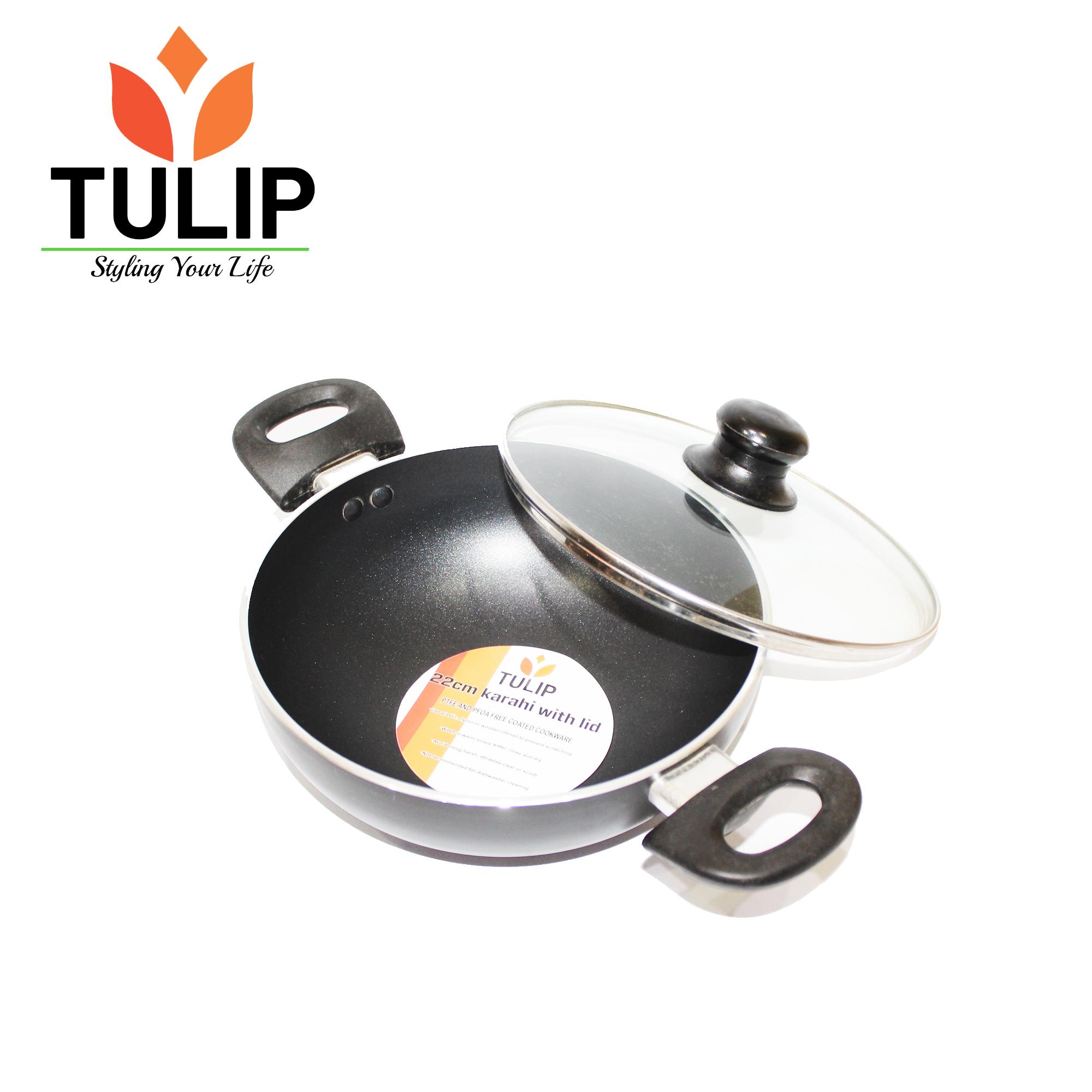 Tulip Non Stick Karahi-22 cm