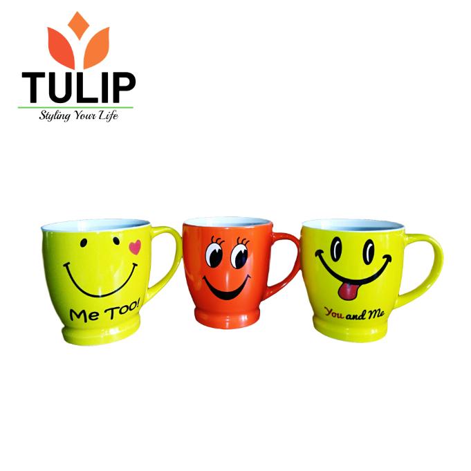 Tulip Ceramic Cup SMILEY