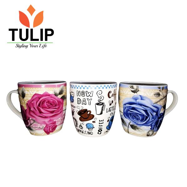 Tulip Ceramic Cup FINE CHINA