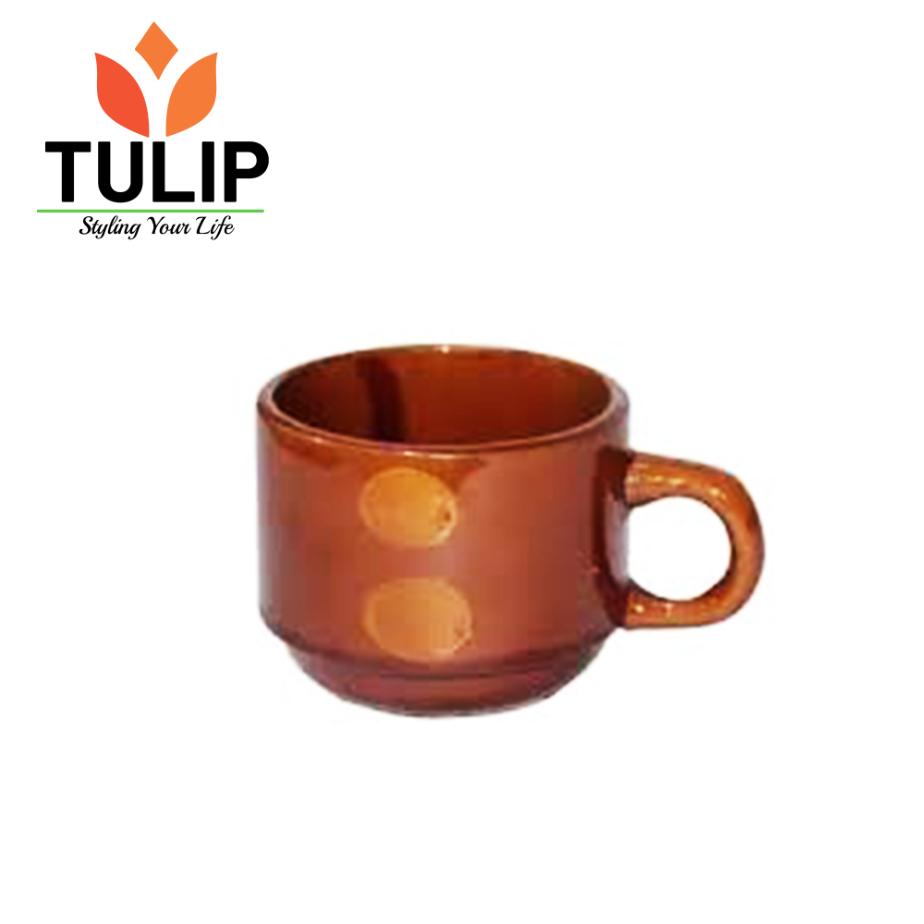 Tulip Ceramic Cup BROWN MUG