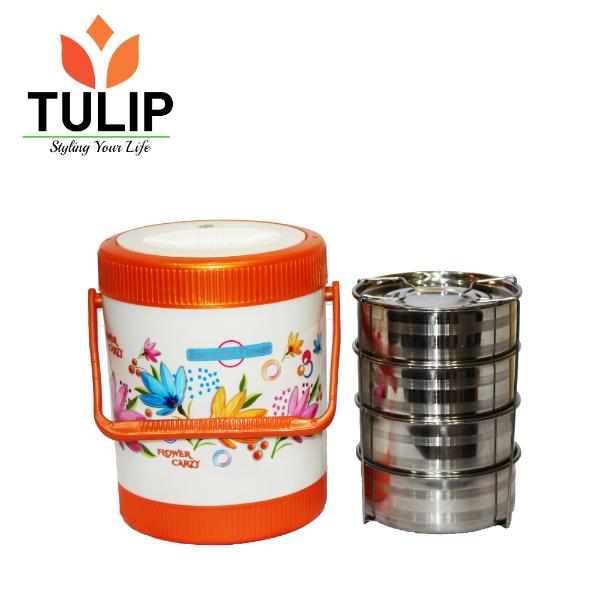 Tulip Tiffin Box- 5 Step