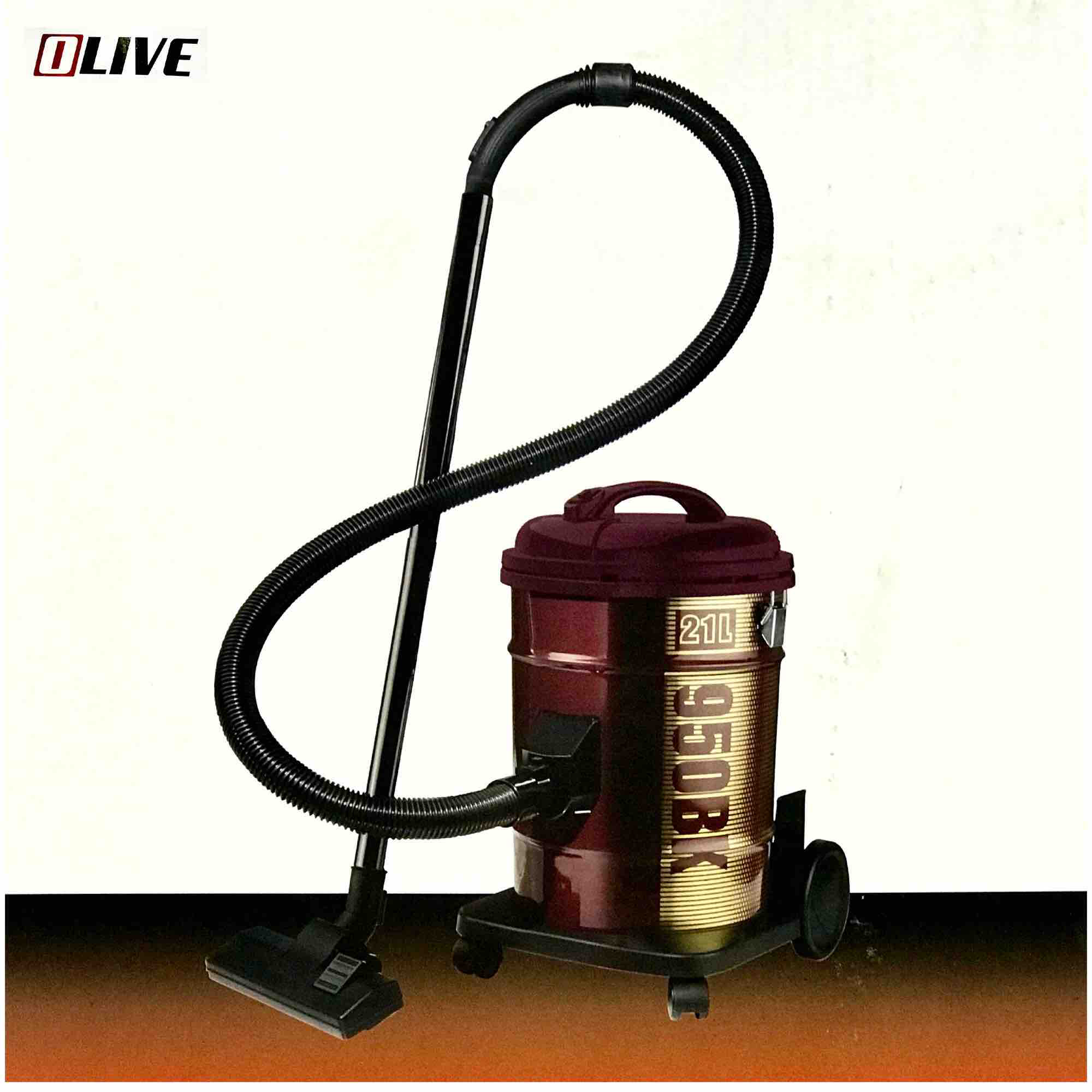 Olive  Vacuum Cleaner 2400 watt Drum -K-403-3-DR