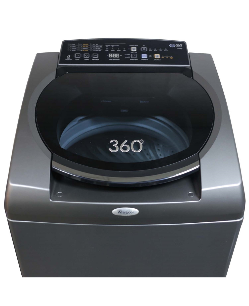 whirlpool washing machine top loading 14 ltr 360 ULTIMATE CARE 14 kg BS
