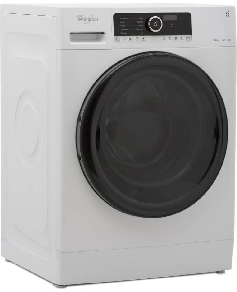 Whirlpool Washing Machine Fully Automatic Front Loading 8 kg WRF 802 AHW