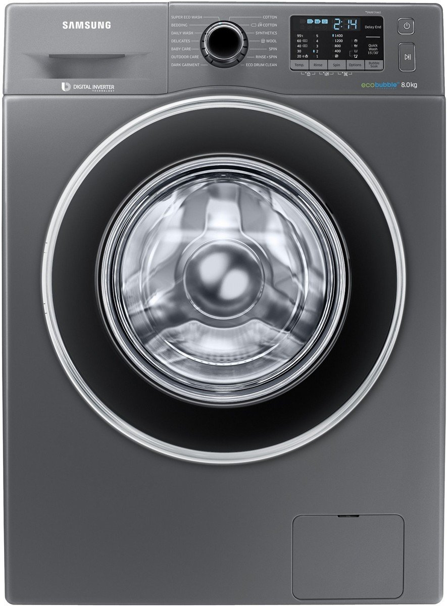 Samsung Fully Automatic Washing Machine With Eco Bubble-8 Kg ( Front Load)-WW80J5410GX