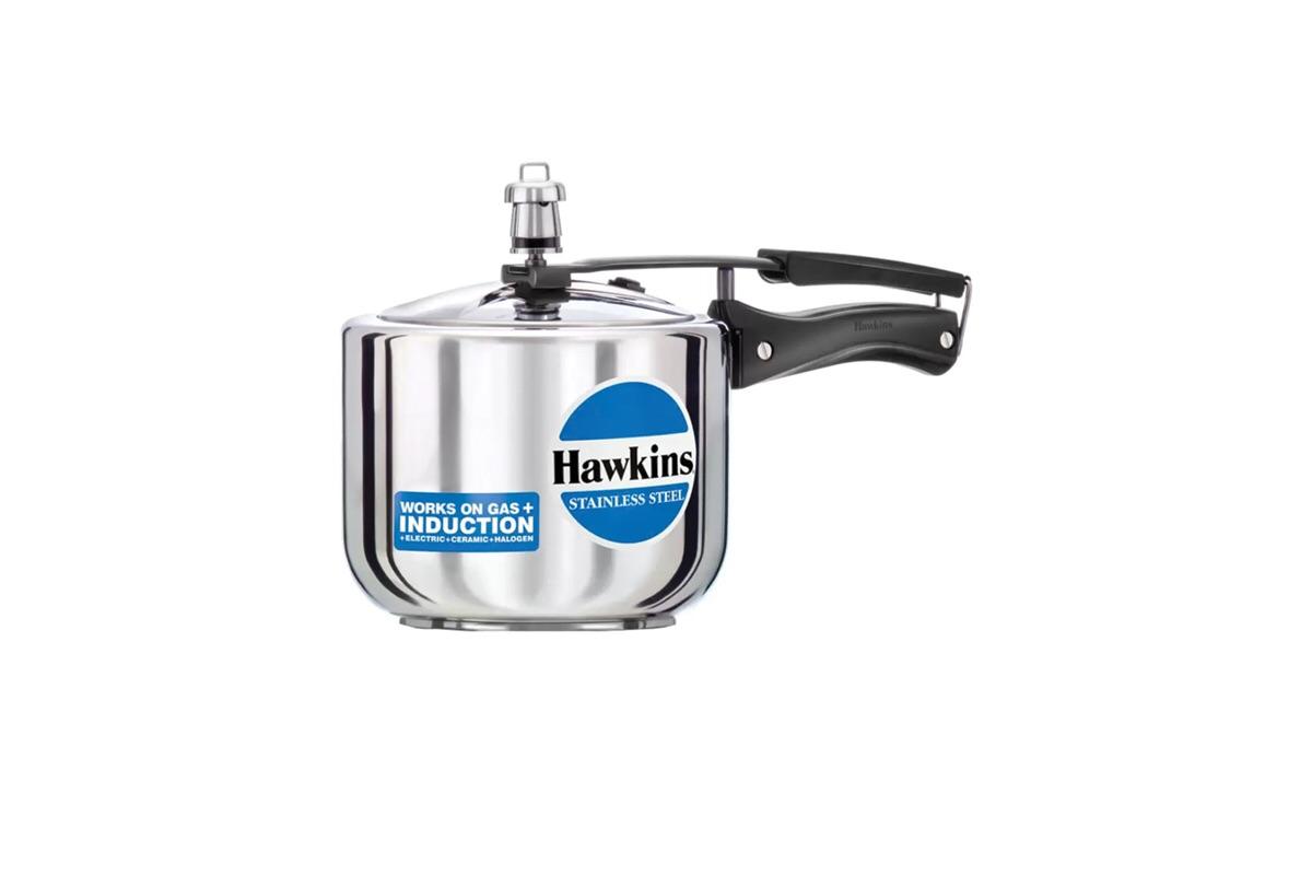 Hawkins Stainless Steel Pressure Cooker (B25)- 2 Litre