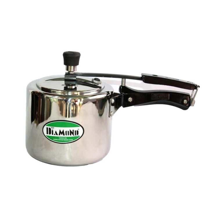 Diamond Stainless Steel Pressure Cooker -3.5 Litre
